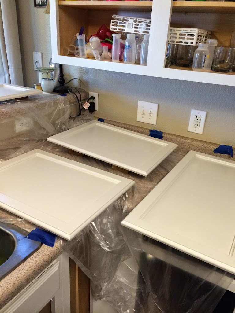 Rustoleum Countertop Paint Fumes : Rust-oleum Kitchen White Project