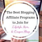 Best Blogging Affiliate programs