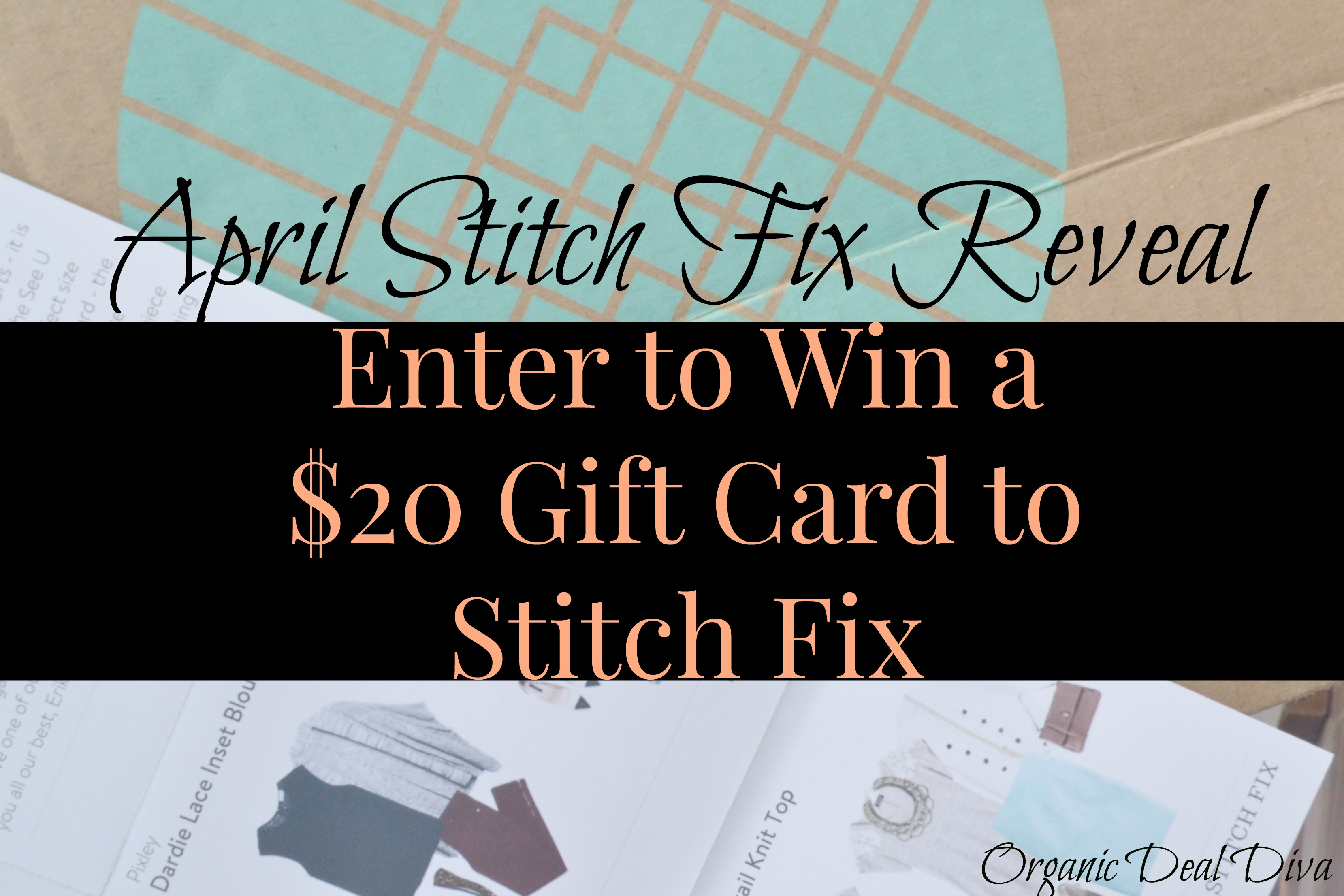 Enter to win a $20 Stitch Fix Gift Card