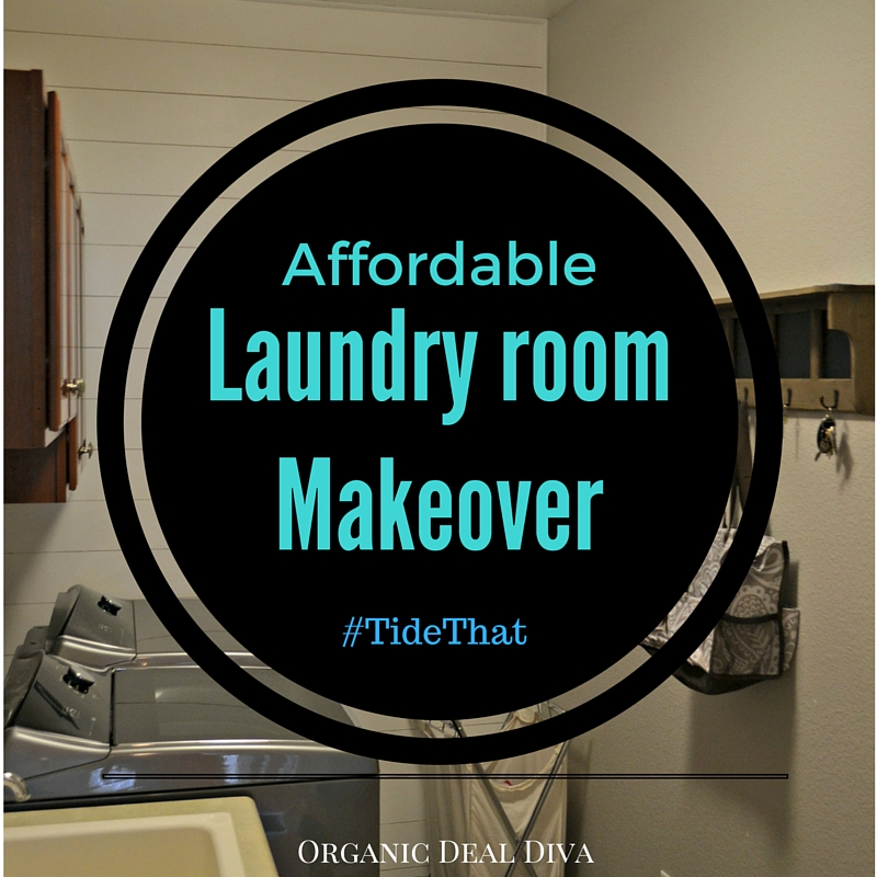 Affordable laundry room makeover #tidethat
