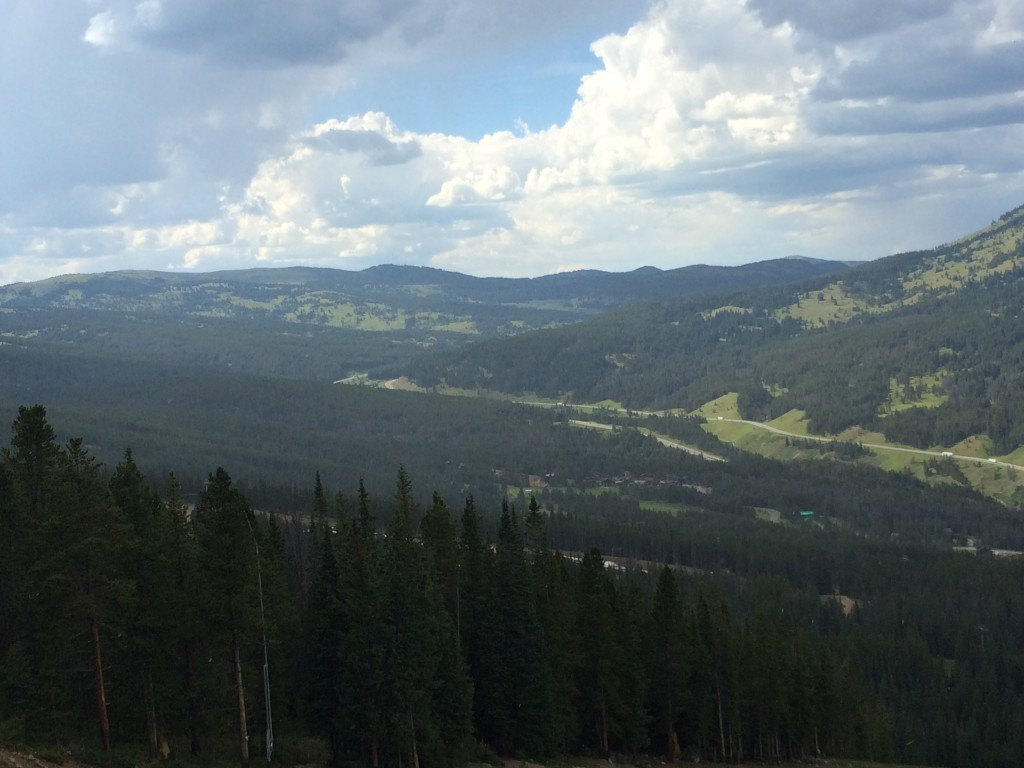 View of Copper Mountain on Top