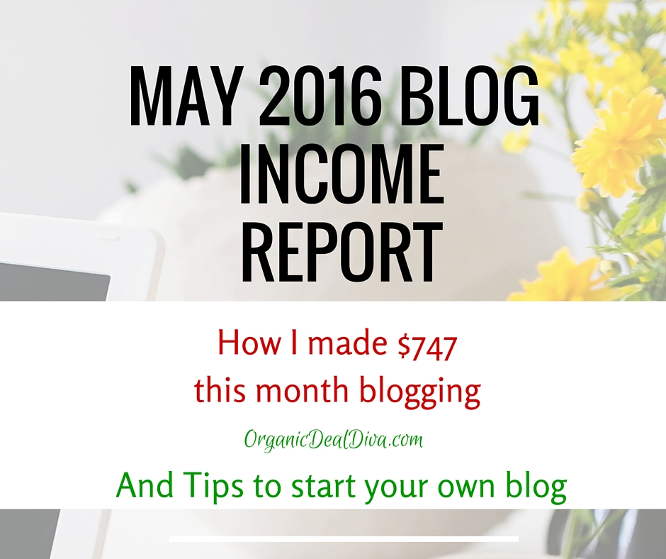May Income Blog Report