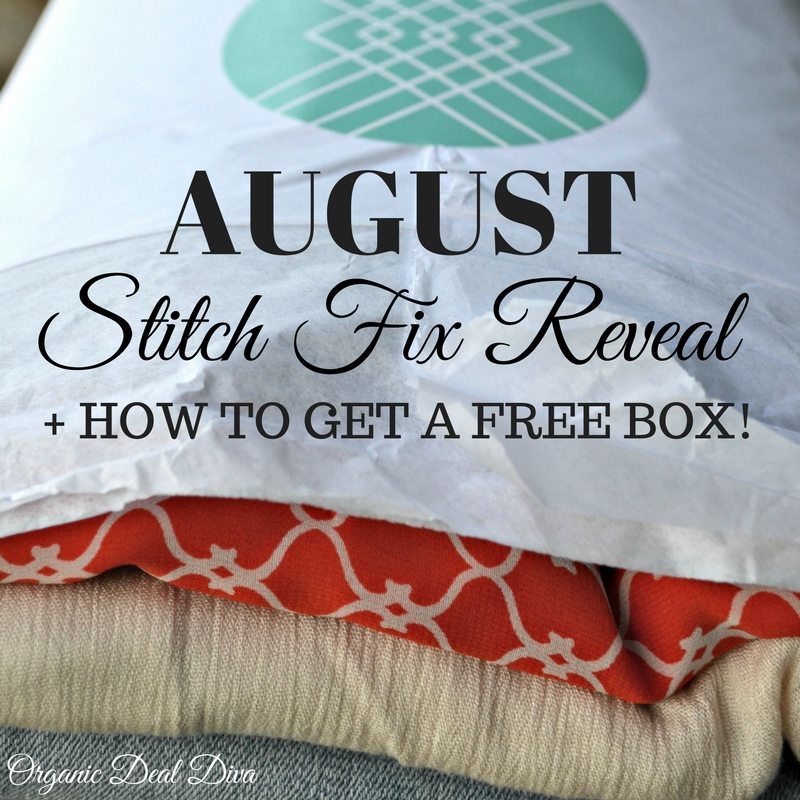 August Stitch Fix Reveal + How To Get Your 1st Fix FREE!