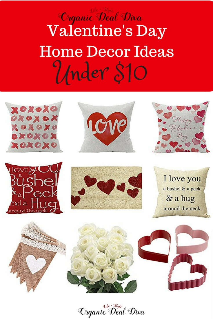 10 valentine 39 s day decor ideas under 10 organic deal diva for Valentine s day home decorations